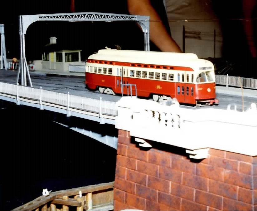 TTC 4657 on bridge